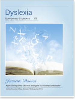 cover of Dyslexia multi-touch book
